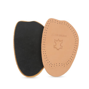 Leather Forefoot Pad Thickening Half Code Pad Soft High Heel Latex Insoles Shock