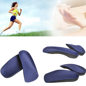 Unisex Insoles for Shoes Orthopedic Insole Foot Arch Half Shoe Pad Orthotic Arch