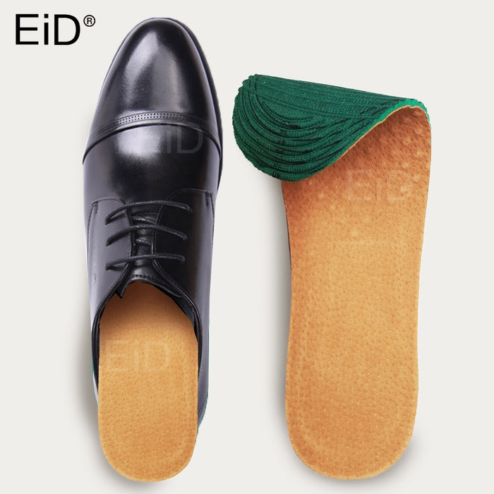 EiD Pigskin Leather Insoles Ultra Thin Breathable Deodorant Instantly Absorb
