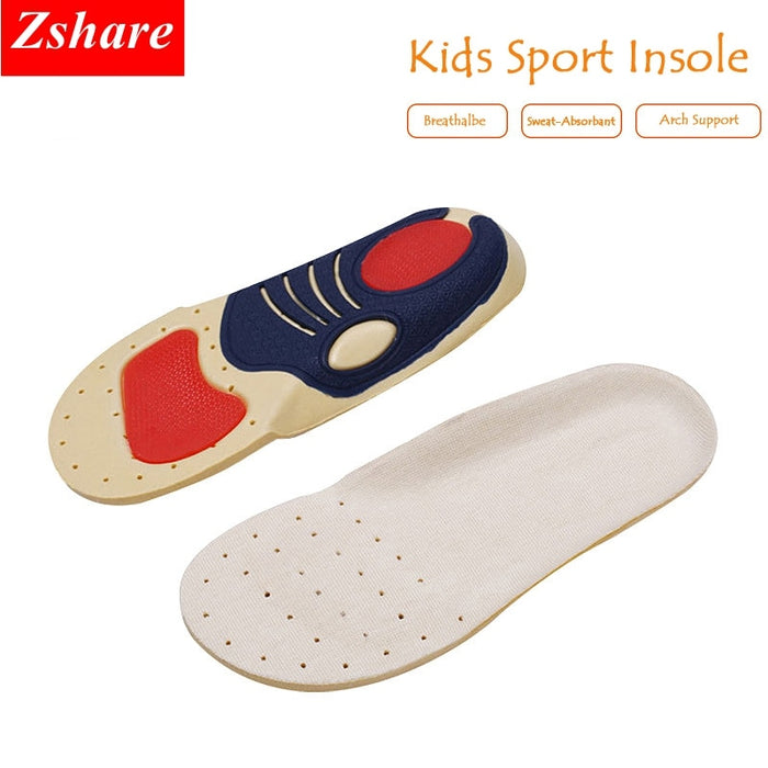 Brand Comfort Children Orthotic Arch Support Insoles Kids Comfortable Sport
