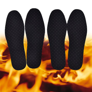 NEW Heating Magnetic Insole Far Infrared Warm Shoe Pad Rays Self-heating