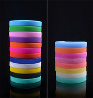 1pc Fashion Design Unisex Cuff Bracelet  Bangle For Women Men Colorful Trendy