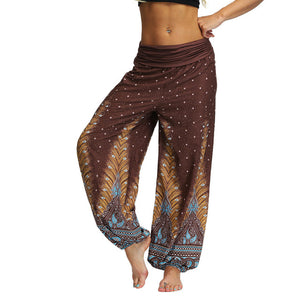 2019 Casual Men Women pants Thai Harem Trousers Hippy Baggy Boho Loose Aladdin