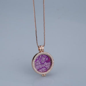 Flash sale pink interchangeable trendy brand new necklaces pendants