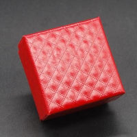 4 colors square shape jewelry box earrings rings gift boxes square carton 5X5X3 cm