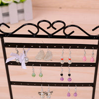 Jewelry Display Stand Holder Earring Display Stand Jewelry Iron Wall Frame Necklace Holder Accessories Base Storage Dropshipping