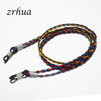 ZRHUA 65cm Fashion Glasses Sunglasses Stretchy Strap Belt Cord Holder Sunglasses Eyeglass Neck Band Cord Top Sale for Women Girl