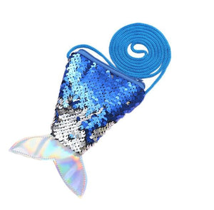 2019 Girl Mermaid Tail Sequins Coin Purse and Wallet Ladies Bags Sling Card