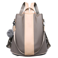 Fashion Women Backpacks Purse Waterproof Nylon Anti-theft Rucksack Lightweight Shoulder Bag for Teenagers Girls Mochila Mujer