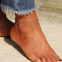 NEW Anklets for women Bohemian Love heart multilayer Fashion Bracelet Anklet