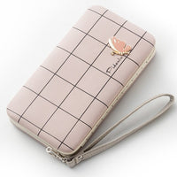Fashion Long Wallets Women Hasp Wallet Female Phone Case Coin Pocket Luxury Wristlet Women's Purse Clutch Card Holder Bag D195