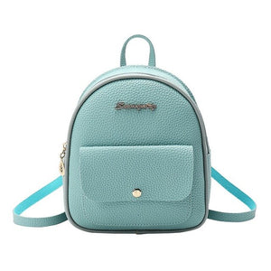 2019 New Fashion Women Shoulders Small Backpack Letter Purse Mobile Phone Bag Mochilas Feminina bagpack mochila mujer
