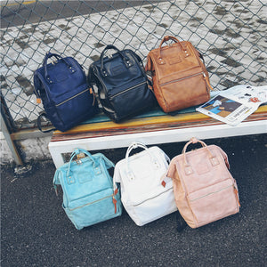 Fashion Multifunction Women Backpack Youth Korean Style Shoulder Bag Laptop Backpack Purse Schoolbags for Teenager Girls Boys