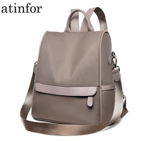 atinfor anti theft Waterproof Small Backpack Women Shoulder Travel Backpacks Purse School Bags for Teenager Girl
