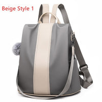 atinfor waterproof PU leather anti-theft backpack women 2019 vintage backpacks purse school shoulder bag by 2 materials