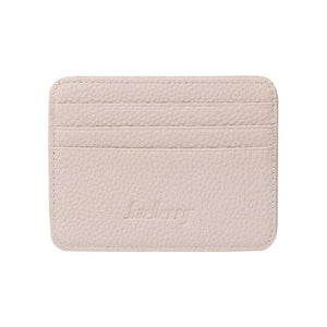 Fashion Slim 3 Credit Cards Business Holder Pocket Slim Thin ID Credit Card Money Holder Wallet for Women Men 6 Color