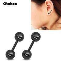Earring Stainless Steel Piercing Helix Barbell Woman Ear Stud Lip Piercing Body Jewelry