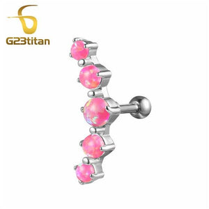 Earrings 16G Titanium Ear Helix Cartilage Piercing Rings For Women Men Body Jewelry