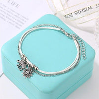 Europe and the United States cross-border jewelry hot retro fashion summer beach combination sun flower elephant anklet