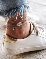New Anklets For Women Bohemian Multilayer Fashion Bracelet Anklet On The Leg Beach Foot Jewelry Femme Moda Praia Wholesale