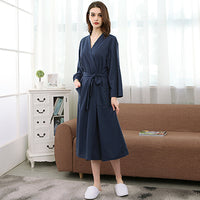 On Sale Lovers Summer Suck Water Kimono Bath Robe Men Plus Size Sexy Waffle Bathrobe Mens Dressing Gown Male Lounge Robes