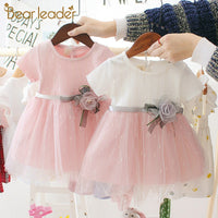 Bear Leader Newborn Baby Girl Dress for Girl 1 Year Birthday Dress Fashion Princess Baby Dress Infant Clothing Toddler Dresses