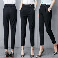 pants women summer women's pants high waist women pants casual office Trousers Slim