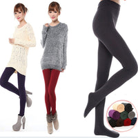 2019 New Spring / Autumn / Winter Women Tights Plus Velvet Warm Good Elastic Slim's Pretty Woman's Stockings XS-XL