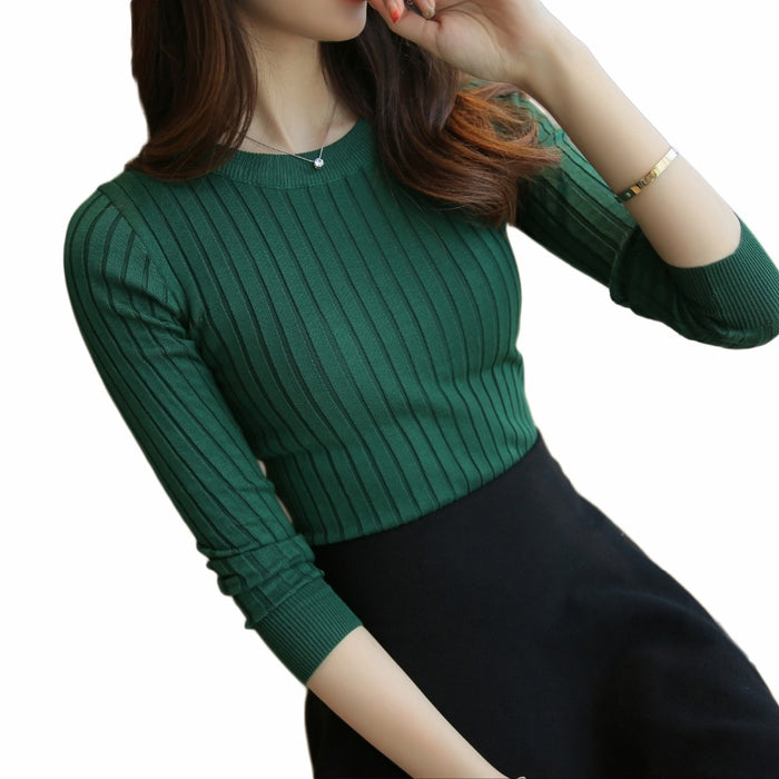 Women's Sweater High Elastic Solid Turtleneck 2019 Fall Winter Fashion Sweater Women Slim Sexy Hight Bottoming Knitted Pullovers