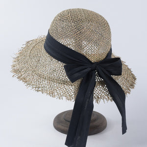 2019 Fashion Breathable Green Straw Beach Sun Hats For Women Hat Size 56-57 cm