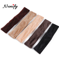 Nunify New Arrival Hand Made Headband Non-Slip Wig Grip Band For Holding Wig Hat Fastener Adjustable Wig Grip 5Pcs 10Pcs