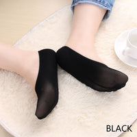 1 Pair Women Summer Fashion Cotton Casual Short Boat Socks Antiskid Invisible Liner No Show Peds Low Cut Anti skid Ice Stocks