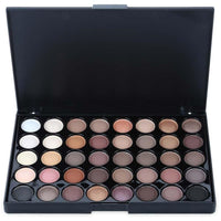Mini Cosmetic Matte Eyeshadow Cream Makeup Palette Shimmer Set 40 Colors MYY9507