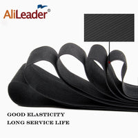 Alileader 1.5/2/2.5/3/3.5Mm Black Elastic Band For Wig Caps Lace Net 1M Nylon Highest Elastic Bands Wig Making Tools Accessories
