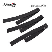 Nunify Adjustable Elastic Band For Wigs Thicken Elastic Bands Wig Making Tools Two Styles 2.5Cm 3.5Cm Width Wig Band