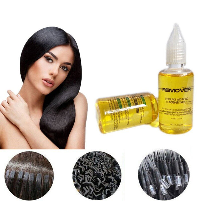 30ml Remover For Lace Wig Bond And Toupee Tape Super Hair Bonding Remover Adhesive Gel Styling Products