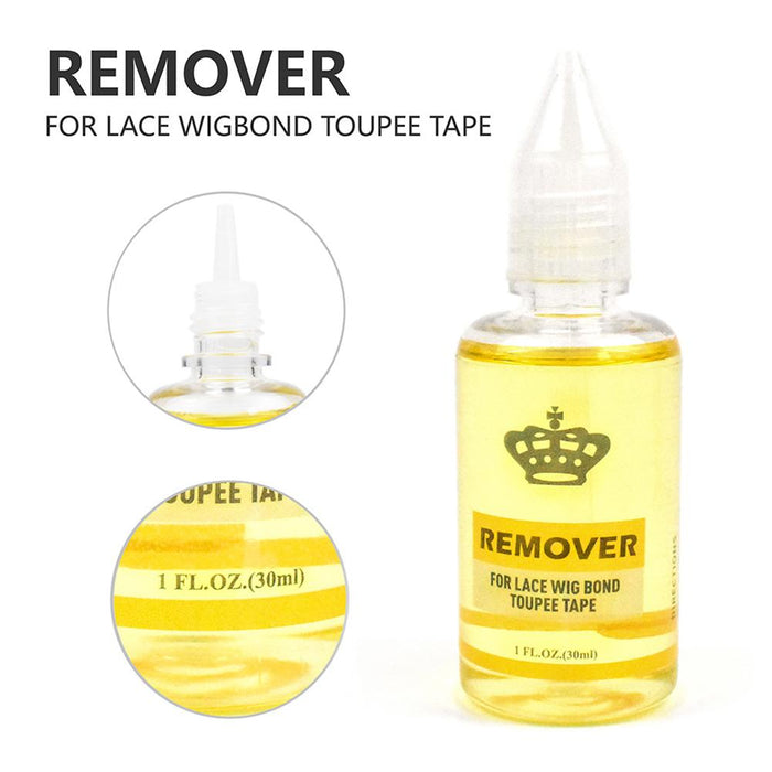 30ML Lace Wig Adhesive Glue Wig Bonding Glue Invisible Adhesive With 1 Bottle 30 ml Remover For Lace Wig Ghost Glue 40P