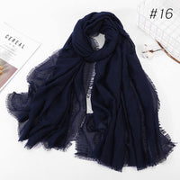 90*180cm women muslim hijab scarf femme musulman soft cotton thin headscarf islamic hijab shawls and wraps hijab malaysia