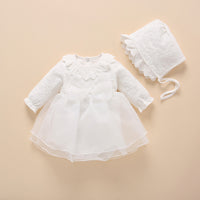 baby girl dress vestidos christening 2019 bow lace white baby baptism dress new born baby girl clothes wedding set 0 3 6 month