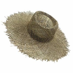 New Women Natural Sun Hat Breathable Straw Hats Summer Wide Brim Beach Hat Fashion Jazz Straw Hat