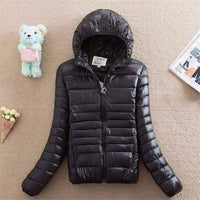 Casual ultra light puffer Jacket winter Plus size Padded Cotton Parkas New big size warm