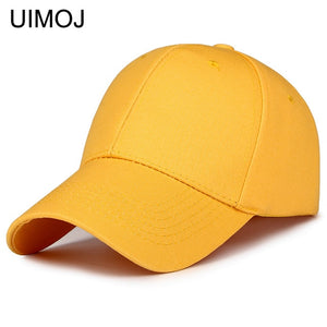 UIMOJ Solid Baseball Hats for Men Adjustable Caps for Women Fashion Casual Hat