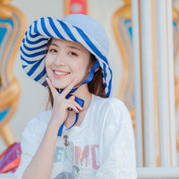 Mingjiebihuo Summer Sun protection sunscreen beach hat high quality comfortable temperament woman breathable cute summer hat