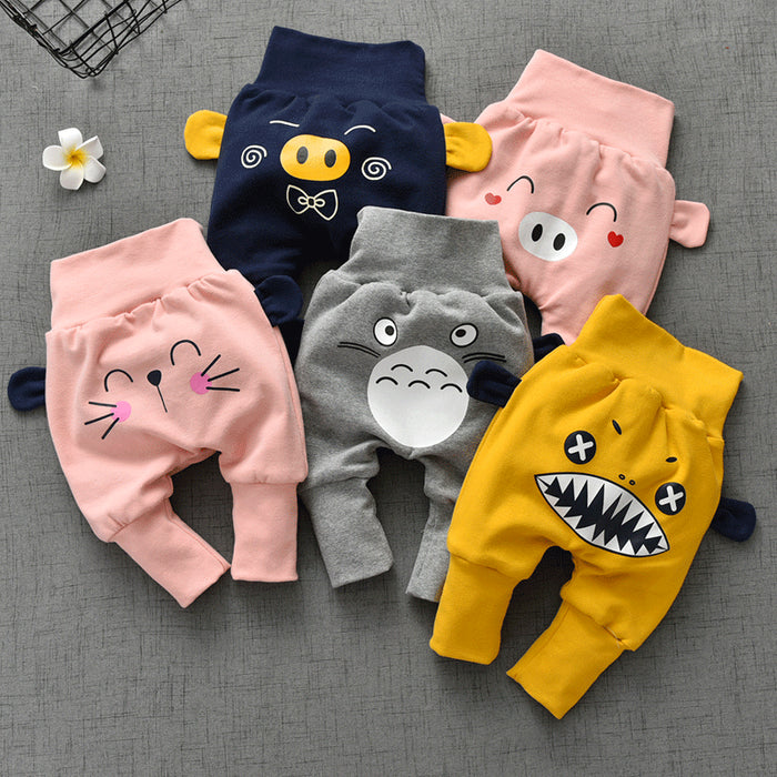 cute animal baby pants winter baby girl pants 2019 big pp pants cotton boys trousers thick kid clothes unisex newborn pants
