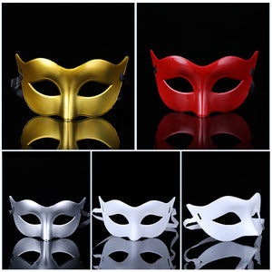 DANCE Mask Masquerade Halloween Prom Party Accessories Eye Mask Venetian Masks Party mask For Man and Women X