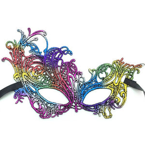 Carnival Mask Party Masks For Masquerade Women 1PC colorful Sexy Lace Eye Mask Venetian Costumes gilding Halloween