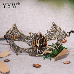 1pcs Women Sexy Lace Eye Mask For Masquerade Halloween Venetian Costumes Carnival Mask For Anonymous Party Masks For Adults