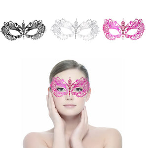 FESTNIGHT 1PCS Rose Women Sexy Eye Mask Party Mask For Masquerade Halloween