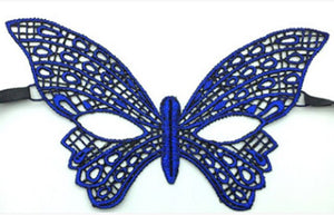 New Fashion Sexy Women Blue Lace Eye Face Mask Masquerade Party Pageant Ball Prom Halloween Costume Accessories