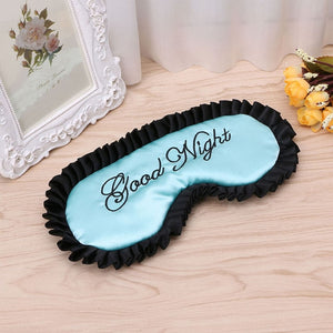 New Hot Sleep Mask Natural Sleeping Eye Mask Eyeshade Cover Shade Eye Patch Women Men Soft Portable Blindfold Travel Eyepatch